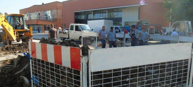 Rekonstrukcija vodovoda na platou KSC Ilijaš
