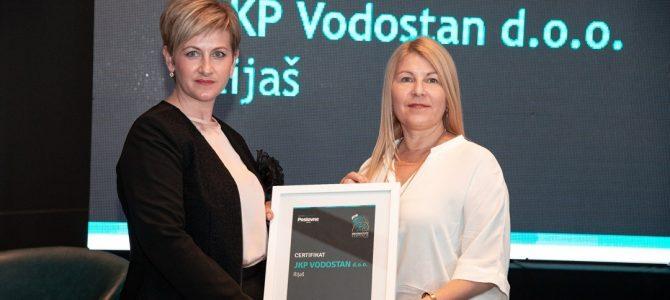 """JKP """"Vodostan"""" d.o.o. Ilijaš u protekle tri godine ostvario izuzetne poslovne rezultate"""